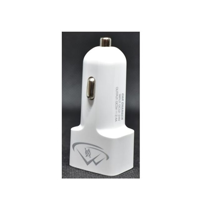 Picture of A20 - 2 USB Car Charger white