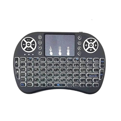 Picture of Mini Wireless Keyboard with Touch Pad